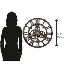 View Product - Howard Miller Allentown Oversized Antique Wall Clock 625275