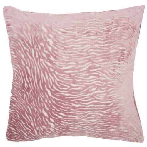 "Luminescence Et139 Rose 20"" X 20"" Throw Pillow"