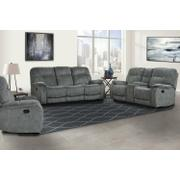 COOPER - SHADOW GREY Manual Reclining Collection Product Image