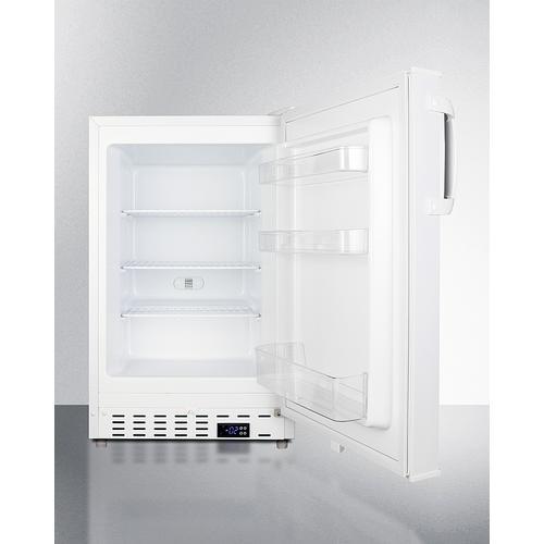 "Summit - 20"" Wide Built-in All-freezer, ADA Compliant"