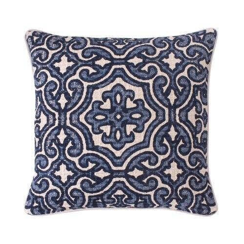 See Details - Alba Pillow Cover Blue