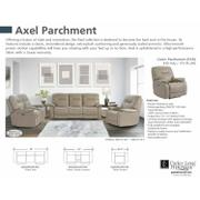AXEL - PARCHMENT Power Reclining Collection Product Image