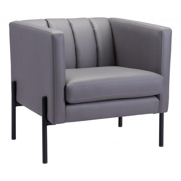 See Details - Jess Accent Chair Gray