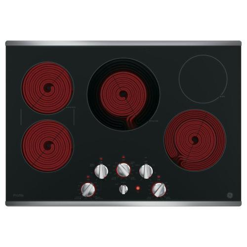 "GE Profile - GE Profile™ 30"" Built-In Knob Control Electric Cooktop"