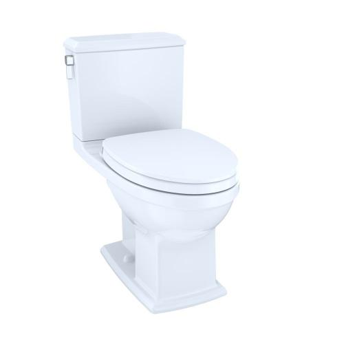 Connelly® Two-Piece Toilet 1.28 GPF & 0.9 GPF, Elongated Bowl with seat - Cotton