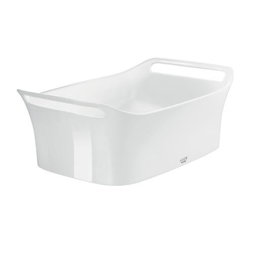 White Vessel Sink 624/408