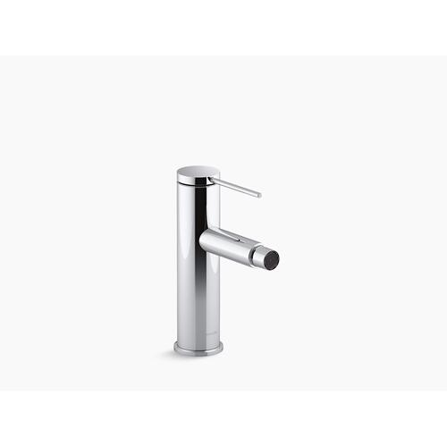 Kohler - Vibrant Brushed Nickel Single-handle Bidet Faucet With Pin Handle