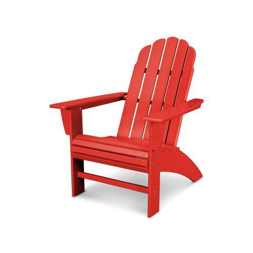 Sunset Red Vineyard Curveback Adirondack Chair