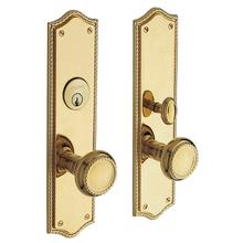Non-Lacquered Brass Barclay Entrance Trim