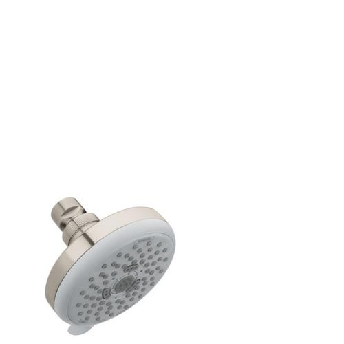 Brushed Nickel Showerhead E 3-Jet, 2.5 GPM