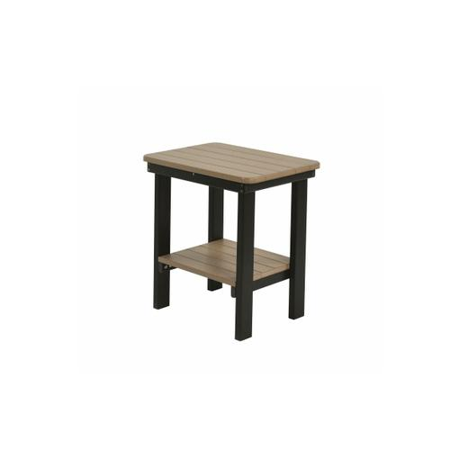Rectangular Dining Height End Table