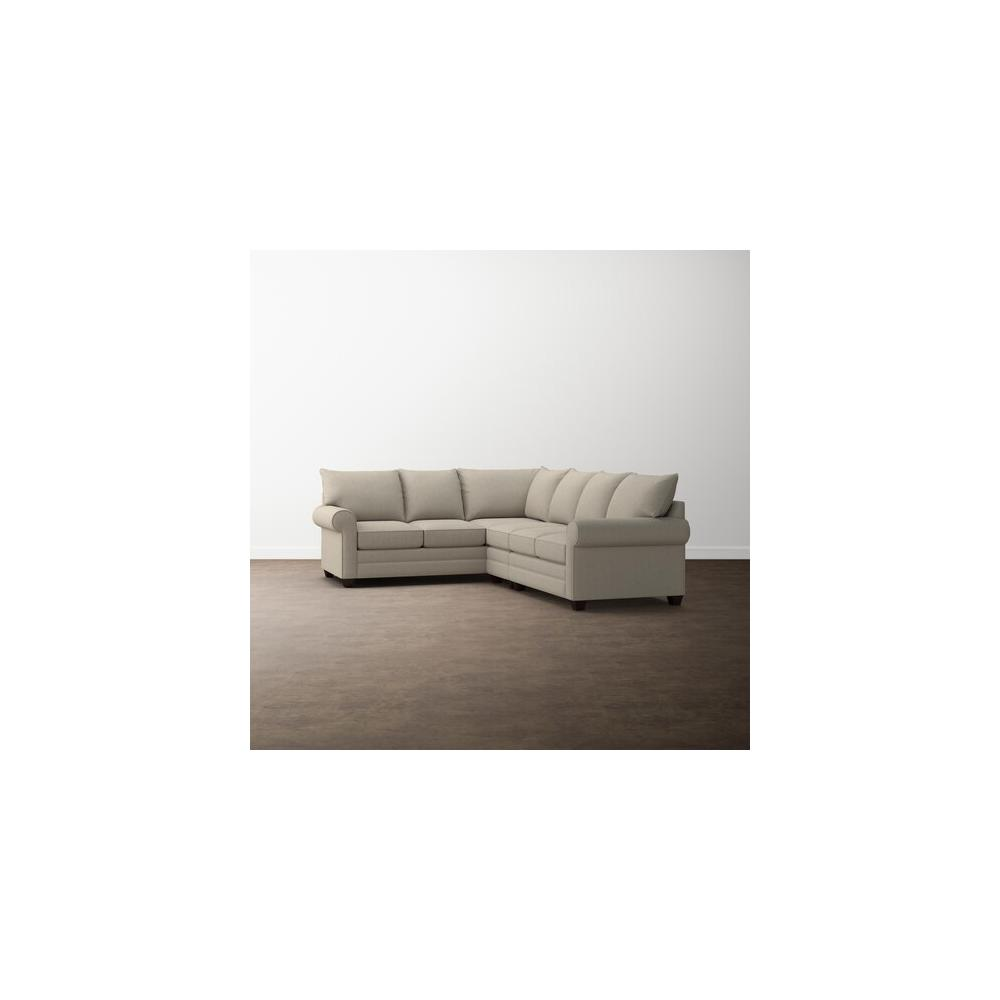 Fog Alexander Roll Arm Large L Sectional