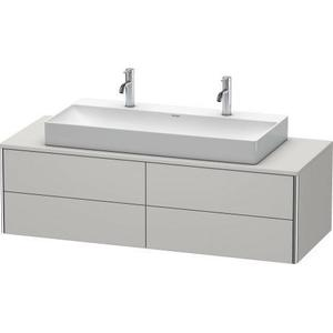 Vanity Unit For Console Wall-mounted, Nordic White Satin Matte (lacquer)