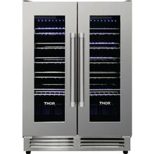 See Details - Thor - 42 Bottle Dual Zone Wine Cooler