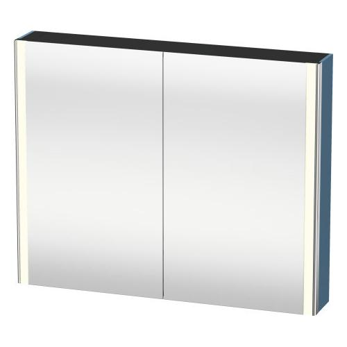 Mirror Cabinet, Stone Blue High Gloss (lacquer)