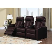 Brown Broadway LAF Recliner