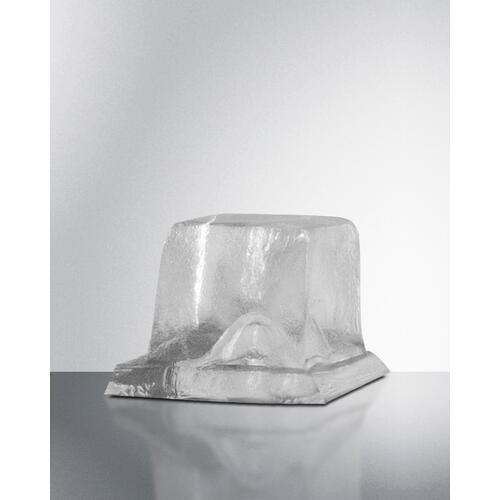 Summit - Commercially Listed ADA Height Clear Icemaker With 100 Lb. Ice Production Capacity for Built-in or Freestanding Use
