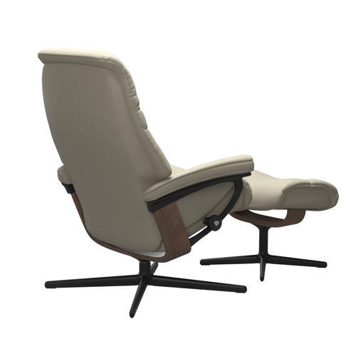 Stressless By Ekornes - Stressless® Sunrise (L) Cross Chair with Ottoman
