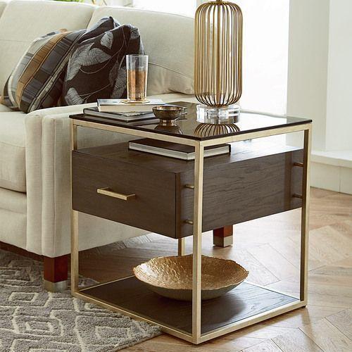 Essence Rectangular Drawer End Table