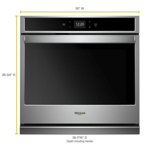Gallery - 5.0 cu. ft. Smart Single Wall Oven with Touchscreen