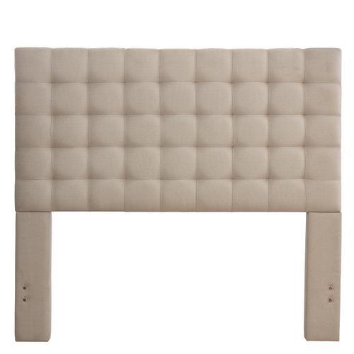 Product Image - Bergen Queen Headboard Only, Sandstone Linen