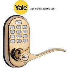 Brass Push Button Lever Lock