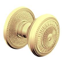 Lifetime Polished Brass K003 Estate Knob