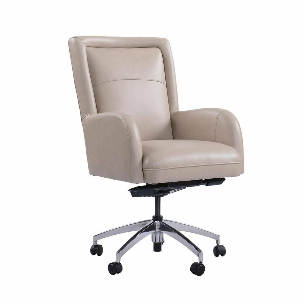 DC#130 Verona Linen - DESK CHAIR Leather Desk Chair