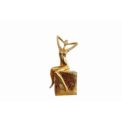 Gallery - Modrest Figure Modern Gold Scuplture