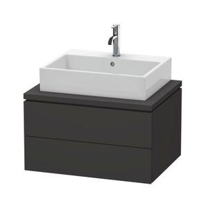 Vanity Unit For Console, Graphite Super Matte