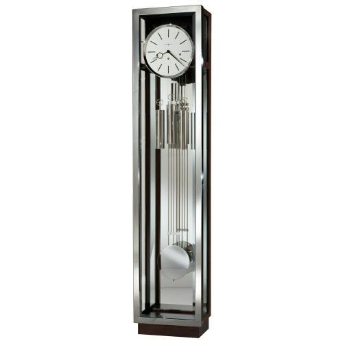 Howard Miller Quinten Chrome Grandfather Clock 611216