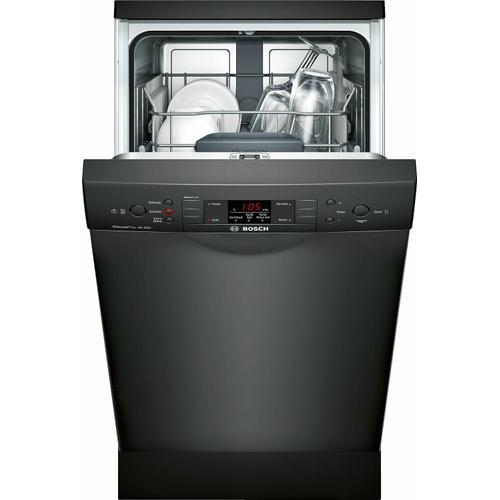 "Product Image - ADA 18"" 300 Series Recessed Hndl, 4/4 Cycles, 46 dBA, RckMatic, 9 Pl Stgs - BL"