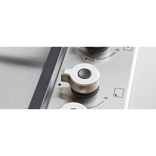 Bertazzoni - 24 Front Control Gas Cooktop 4 burners Stainless Steel