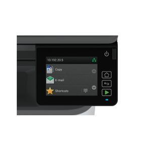 Sharp - MX-B427W 42 ppm B&W desktop Document system