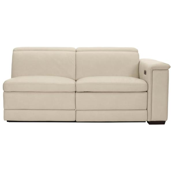 Lioni Power Motion Right Arm Loveseat in Mocha (751)
