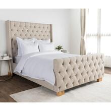 Arcadia White 3Pc King Duvet Set