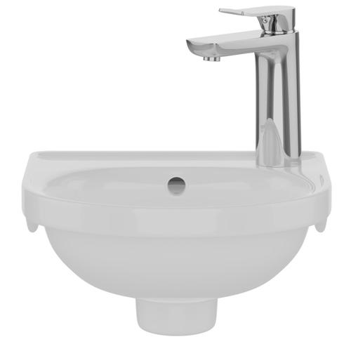 Rosanna Wall Hung Basin - Bisque