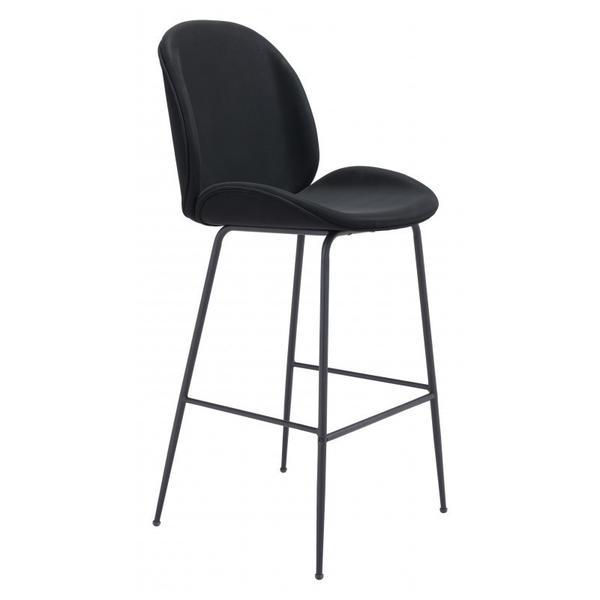 Miles Bar Chair Black