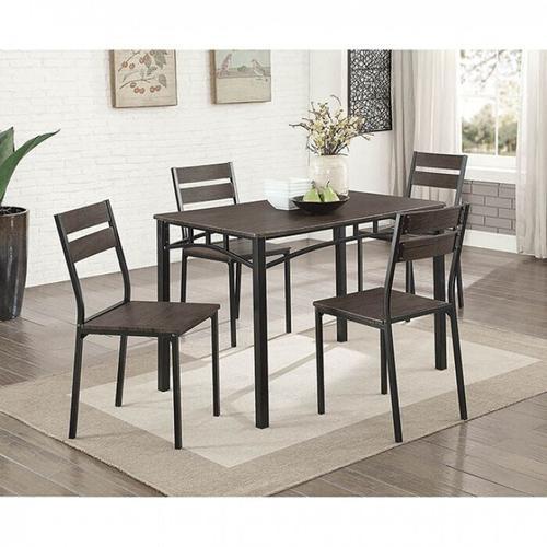 Furniture of America - Westport 5 Pc. Dining Table Set
