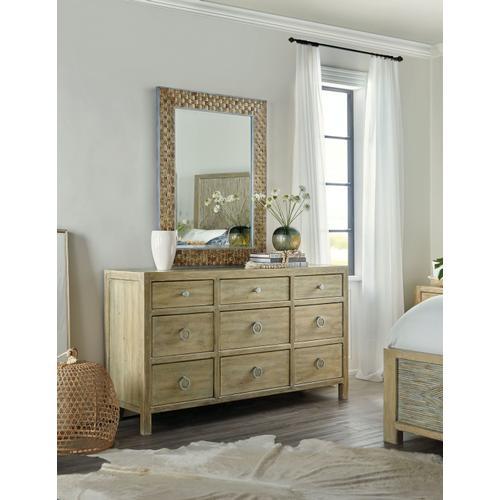 Bedroom Surfrider Nine-Drawer Dresser