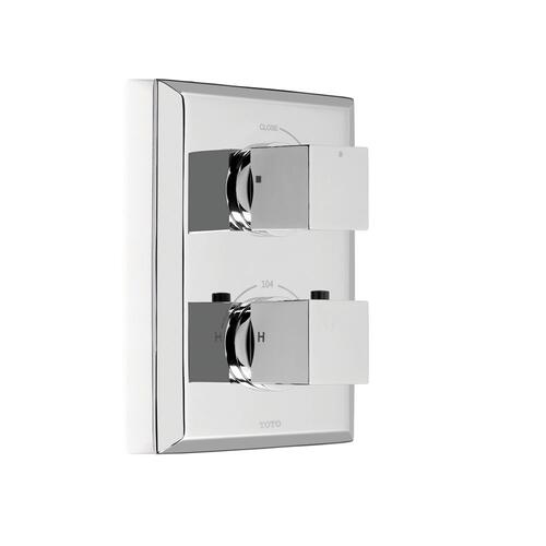 Lloyd® Thermostatic Mixing Valve Trim with Single Volume Control - Polished Nickel