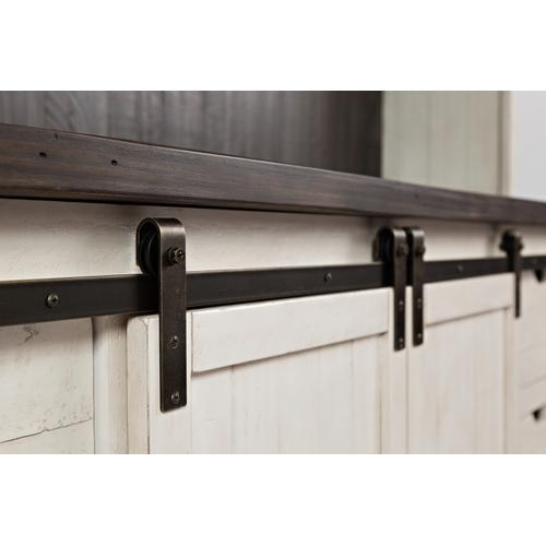 "Madison County 70"" Barn Door Server"