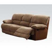 See Details - L. Brown Sofa W/motion