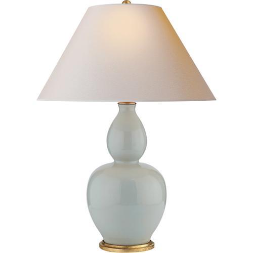 Visual Comfort - E. F. Chapman Yue 31 inch 100.00 watt Ice Blue Porcelain Table Lamp Portable Light