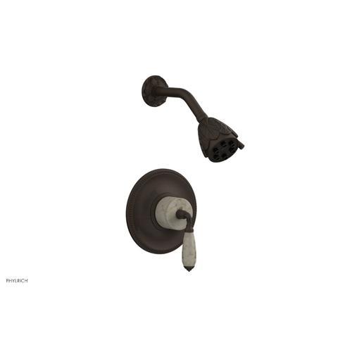 VALENCIA Pressure Balance Shower Set PB3338D - Antique Bronze