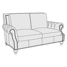 Nelson Loveseat in Molasses (780)