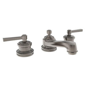Antique Nickel Widespread Lavatory Faucet