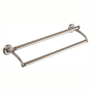 "Satin Nickel 32"" Double Towel Bar"