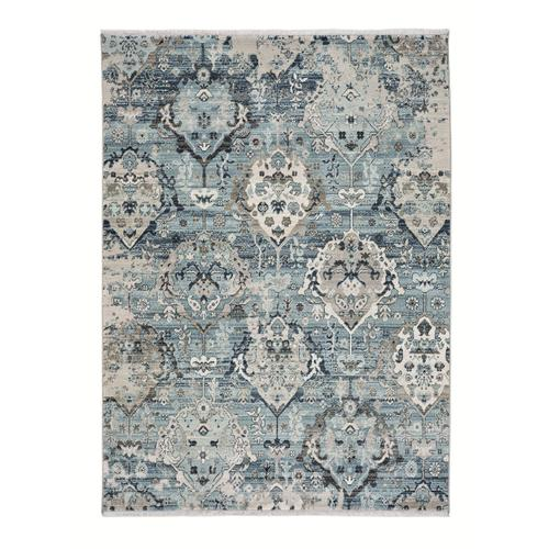 Landis-Isfahan Slate Blue Machine Woven Rugs