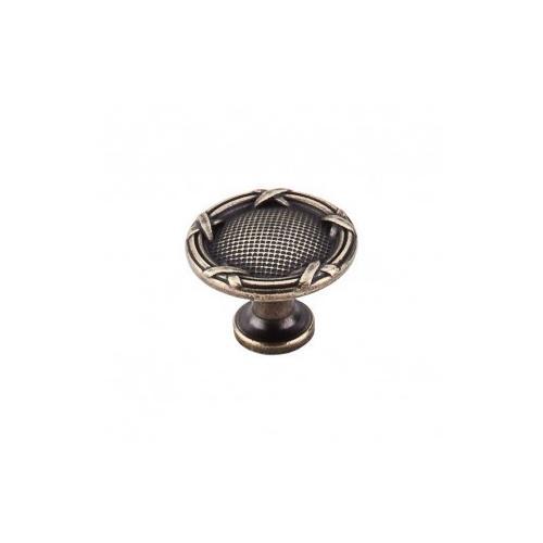 Top Knobs - Ribbon & Reed Knob 1 1/4 Inch - German Bronze